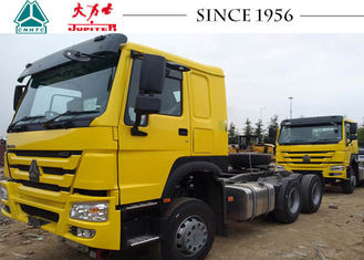 Durable Sinotruk HOWO Tractor Truck 6110×2496×2958mm Dimension Modern Structure