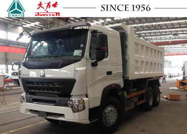 HOWO A7 10 Wheeler Dump Truck 380 HP Engine Euro IV For Philippines Mining