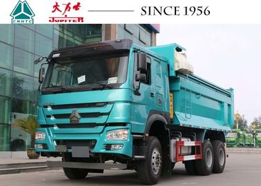 HOWO 6x4 Tipper Truck , 10 Wheeler Dump Truck 20 CBM Perfect Suspension Systems