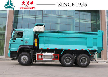 10 Wheeler HOWO Dump Truck 15 CBM-20 CBM Capacity With Superior Heat Dissipation