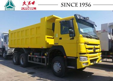 40 Tons HOWO Dump Truck With Hydraulic System , Small Heavy Duty Dump Truck