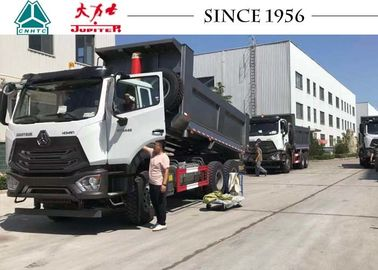 HOWO Light Weight E7G 16CBM 6x4 Dump Truck With Euro IV Engine For Peru